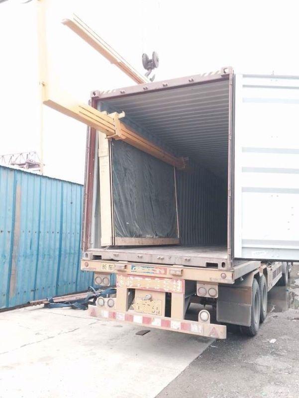 ContainerU – ShapeSuspensionArm double glazing machinery SBT-BLD366 / 500D