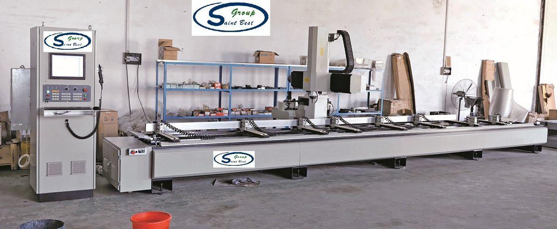CE Aluminium Window Machinery 540mm Y Way Range Curtain Wall Machine