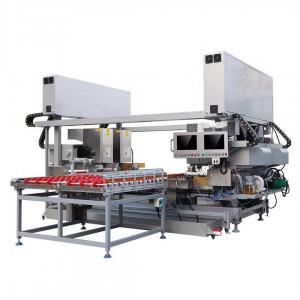 Four Head CNC Glass Corner Grinding Machine,Online CNC Glass Corner Grinding & Polishing Machine,CNC Glass Raduis Polishing Machine