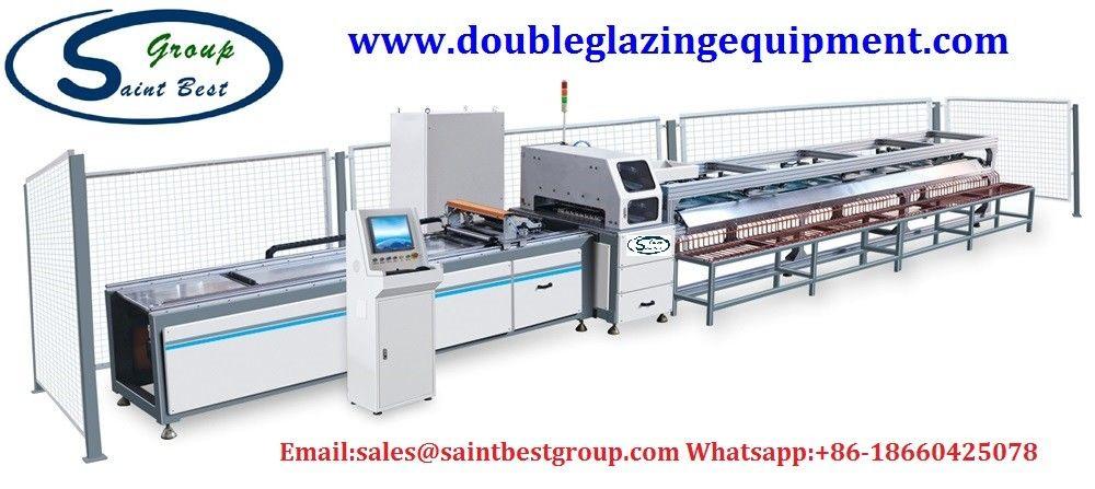 Automatic Aluminium Window Making Machine Tool Change 4 Axis CNC Processing Center