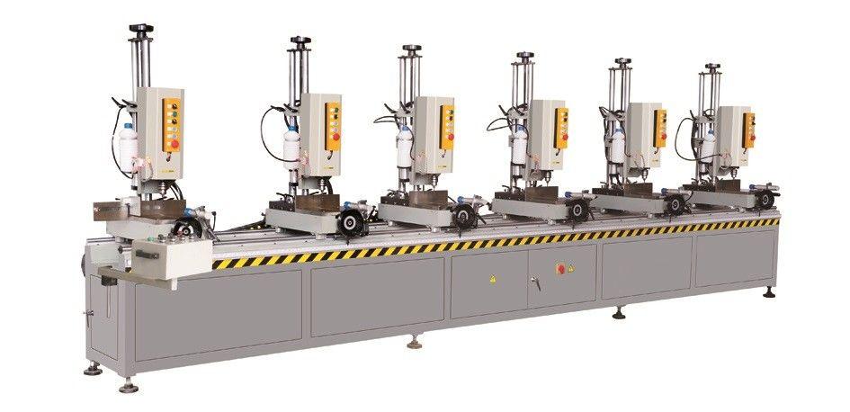 Aluminium Window Multi Spindle Drilling Machine/ Aluminum Window Making Machine Six Head Drilling Machine