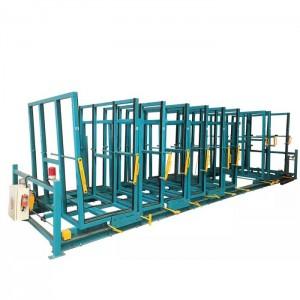 Raw Glass Fully Automatic Storage Rack,Sheet Glass Automatic Storage Rack System,Glass Crates Storage Racks