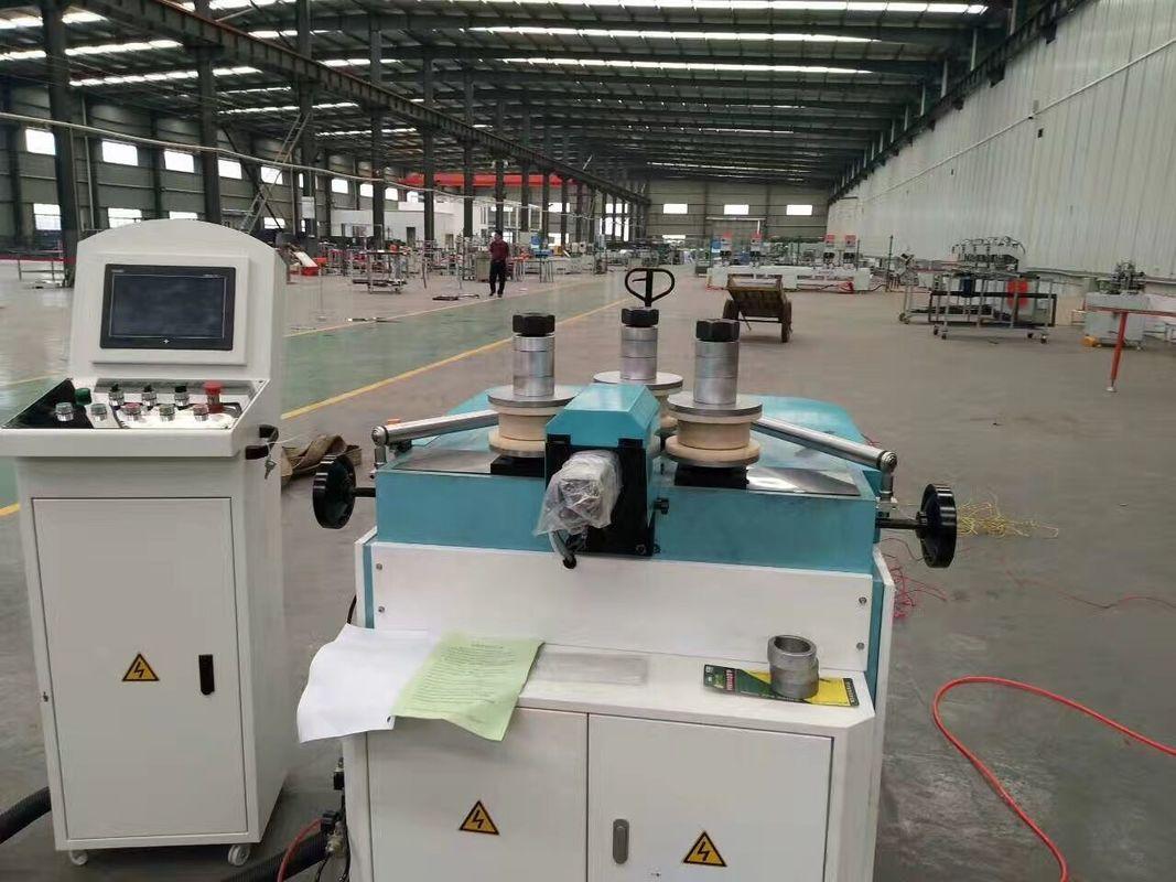 3 Axis CNC Aluminum Roll Bending Machine / Aluminum Profile Curved Bending Machine for  Aluminium Windows