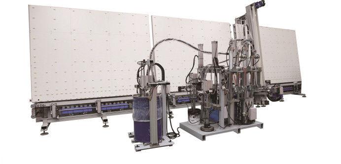 Shape & Structure IGU Sealing Robot Double Glazing Machinery Customized