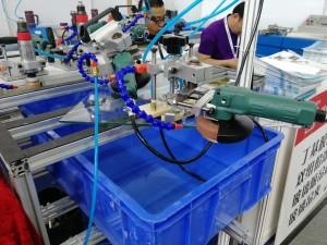 Pneumatic Manual Glass Corner Grinding Machine,Pneumatic Glass Safety Corner Edging Machine,Glass Corner Raduis Grinding Machine