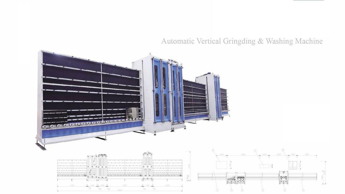 CNC Automatic Vertical Diamond Glass Grinding  Machine,Automatic Glass Seaming Machine,Glass Seaming Machine