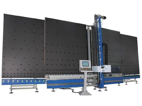 Automatic Vertical Low-E Glass Edge Deleting Machine Double Glazing Equipment