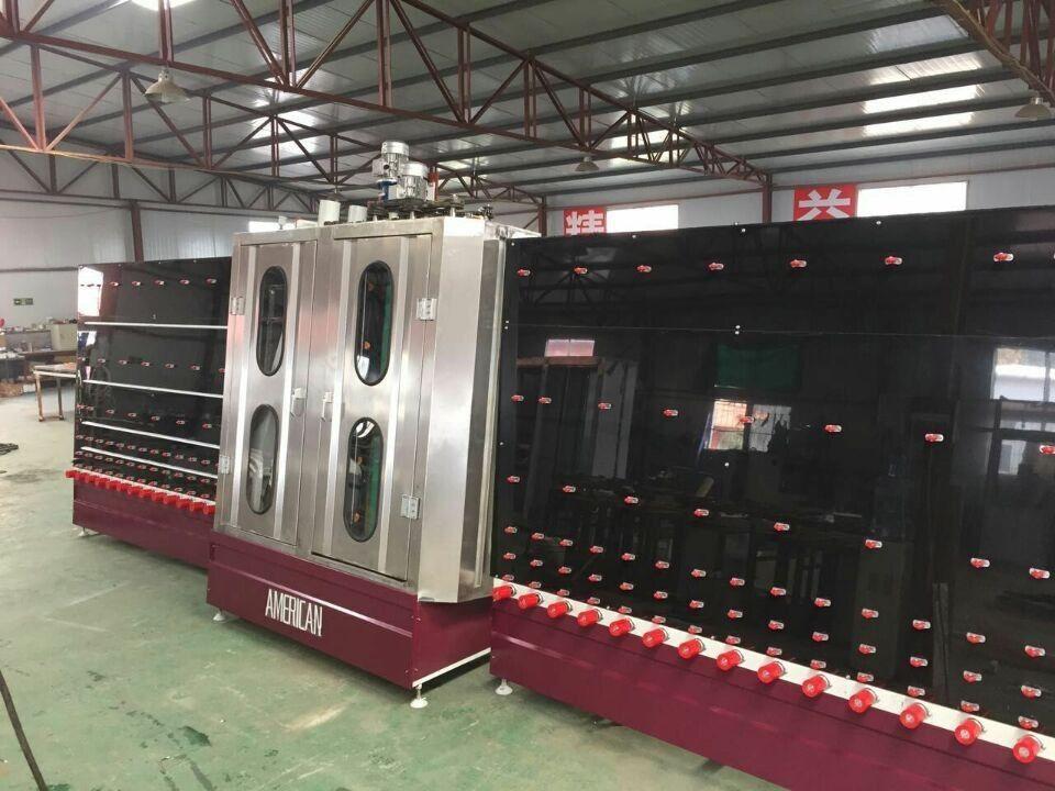 Automatic Stainless Steel Low-e Glass Washing Machine , flat glass washer