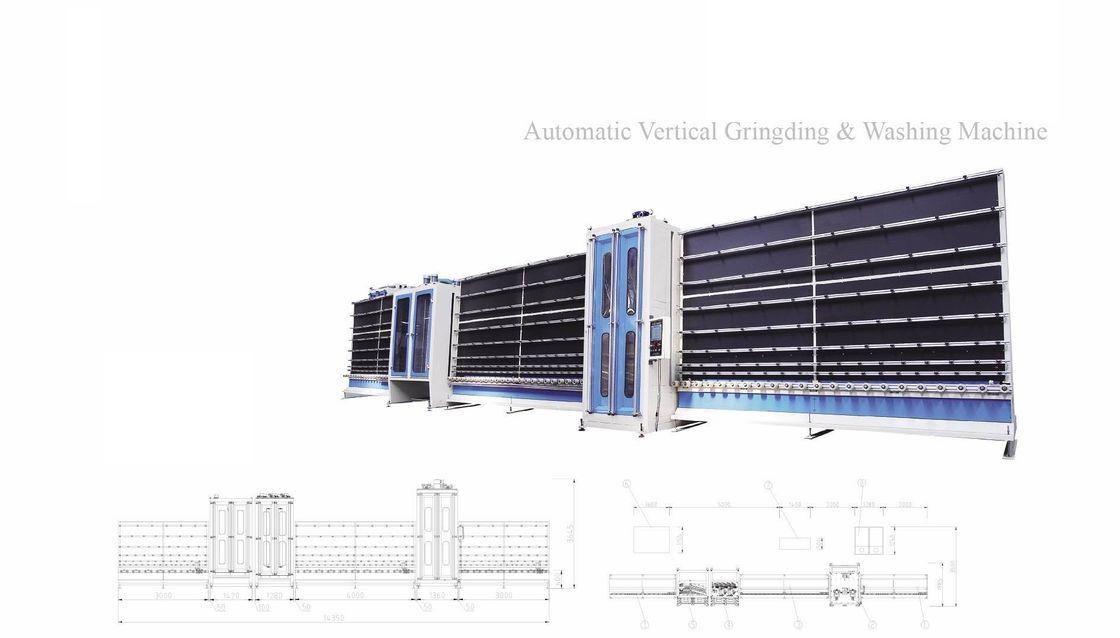 CNC Automatic Diamond Glass Grinding  Machine,Automatic Vertical Glass Seaming Machine,Automatic Glass Seaming Machine