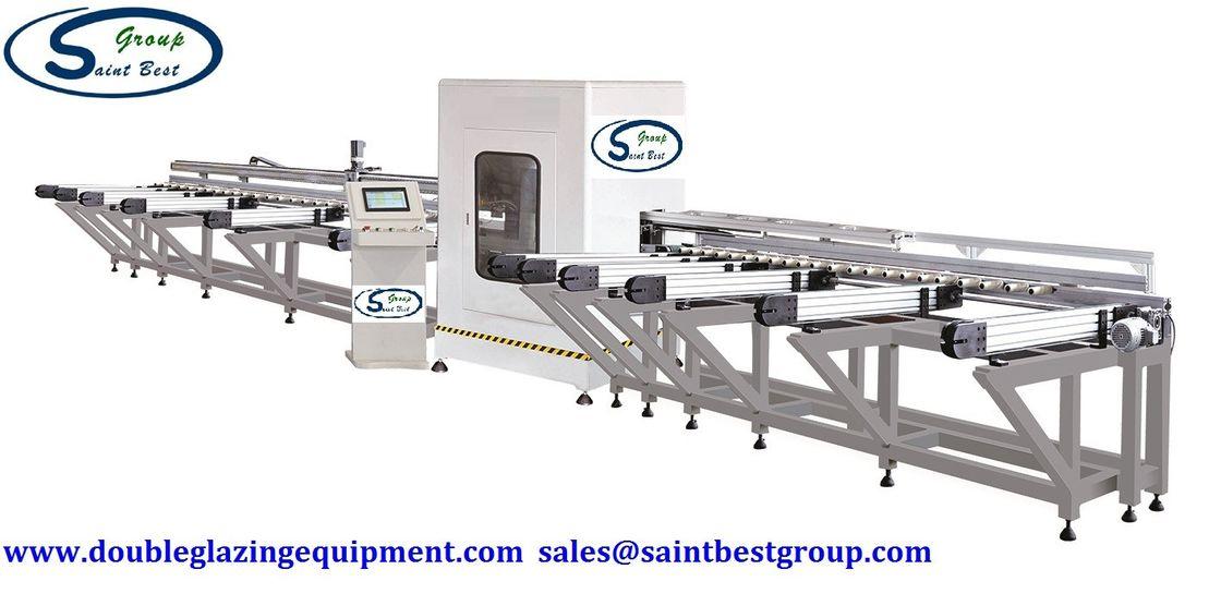 Four Axis CNC Aluminium Fabrication Machinery Profile Cutting Center