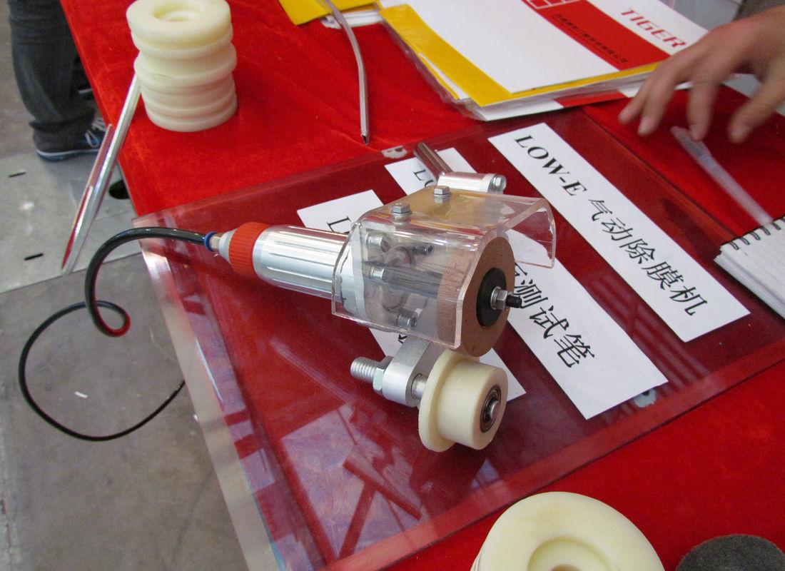 Handheld Low-e Glass Coating Edge Deletion Tool  Pneumatic Manual Low-E Grinding Machine