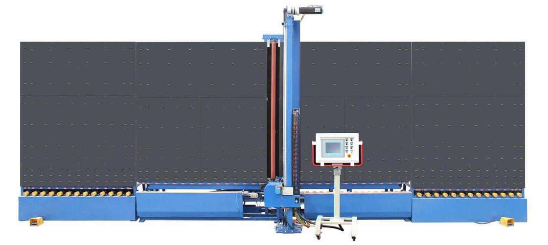 Automatic Vertical Low-e Glass  Edge Shape Deleting Machine Double Glazing Equipment