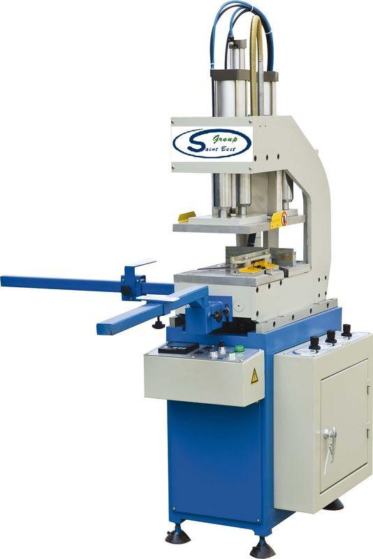 One Head Window Welding Machine , Upvc Window Machinery Variable Angle Welding