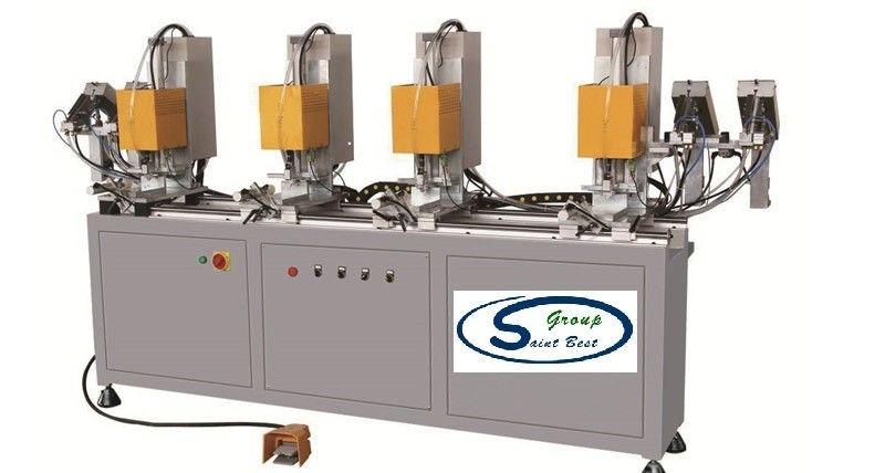 CNC UPVC Window Machine four heads Screw machine 13~45mm Length