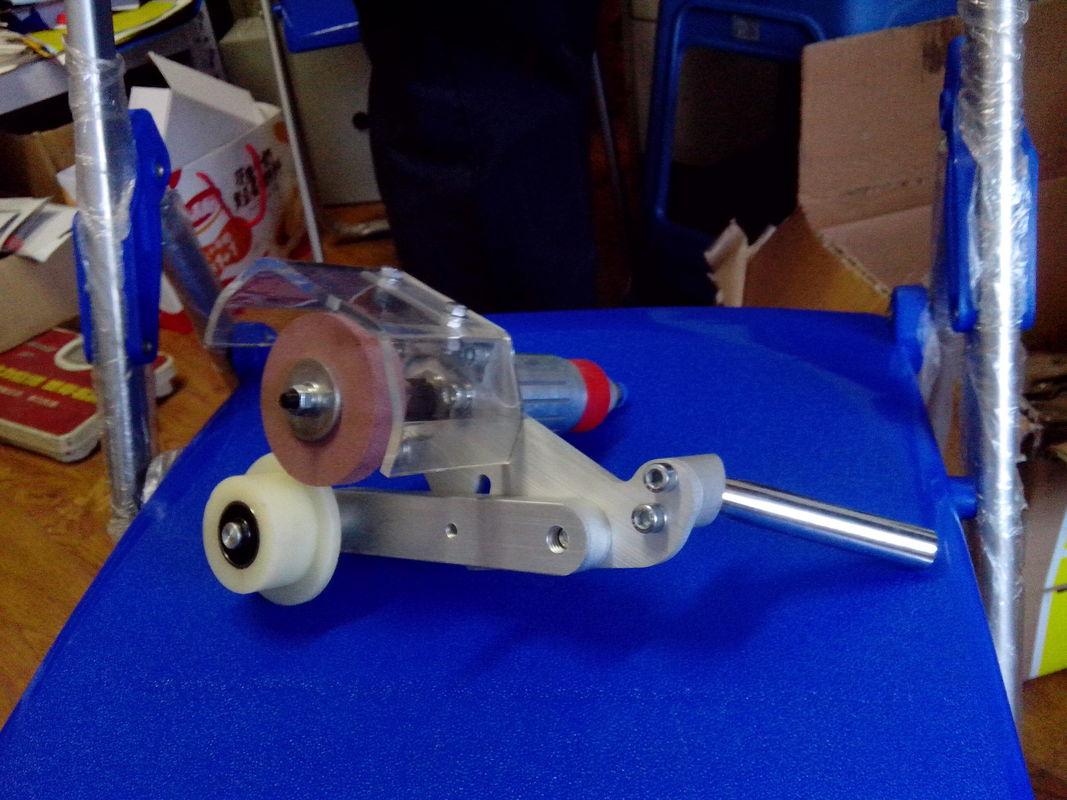 Pneumatic Manual Low-E Grinding Machine  Handheld Low-e Glass Coating Edge Deletion Tool