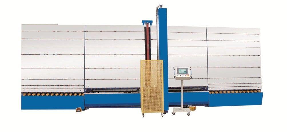 CNC Automatic Double Glazing Equipment Low e Glass Edge Shape Deleting