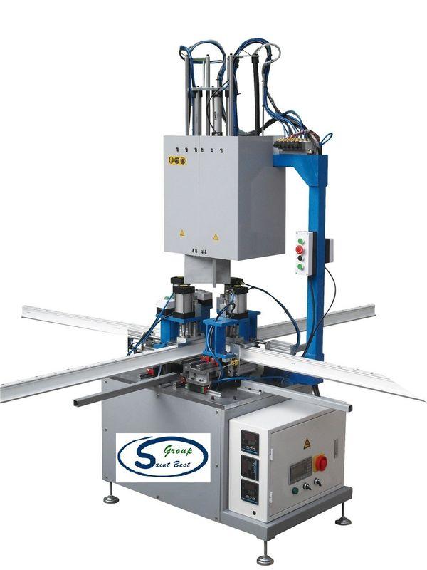 CNC Single Head Welding Machine , UPVC Fabrication Machines 260L/Min