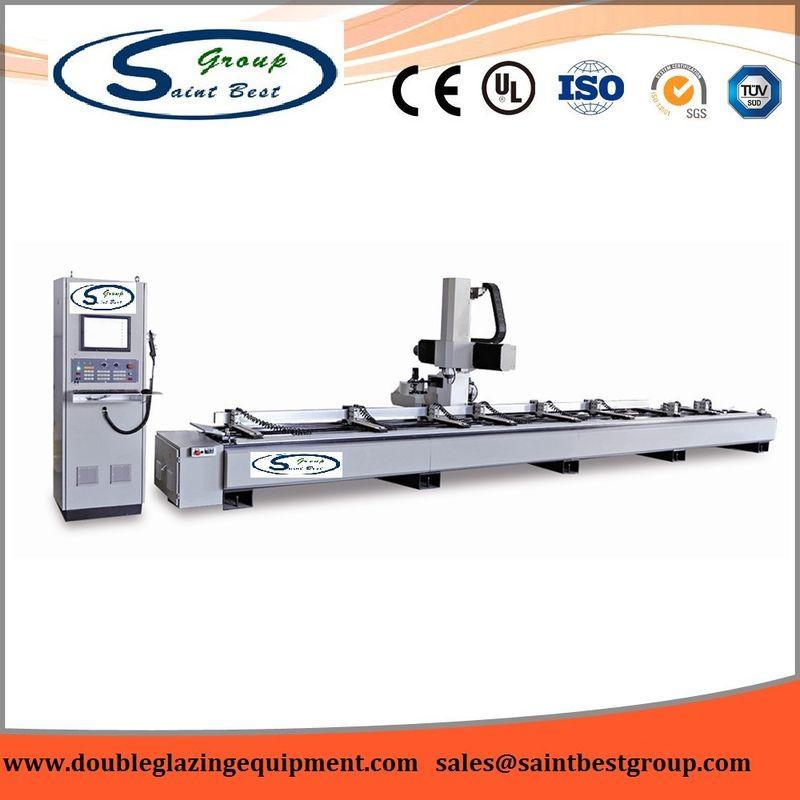 Industry Aluminium Window Machinery CNC Milling Center 165mm Max Cutter Length