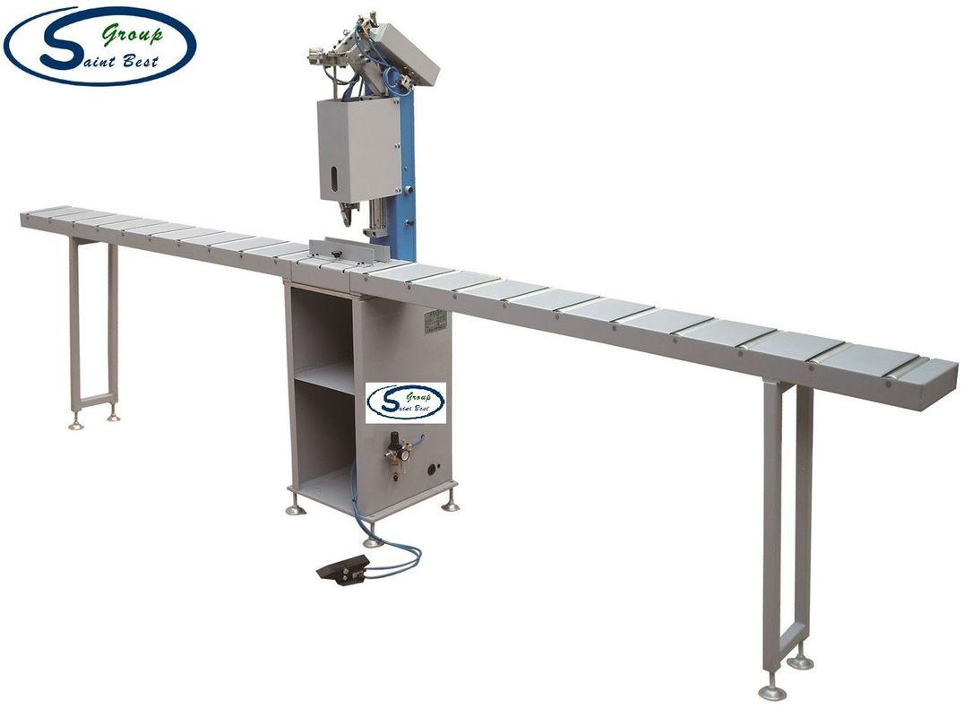 PVC / UPVC Window Machine Single Head Screw Drilling Fastening Equipment Plastic Profile